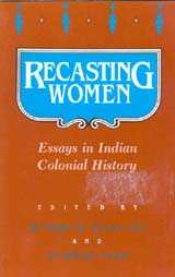 recasting women essays in n colonial history heb book cover