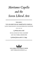 Martianus Capella And The Seven Liberal Arts