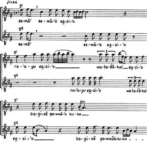 Music, ritual, and Falasha history