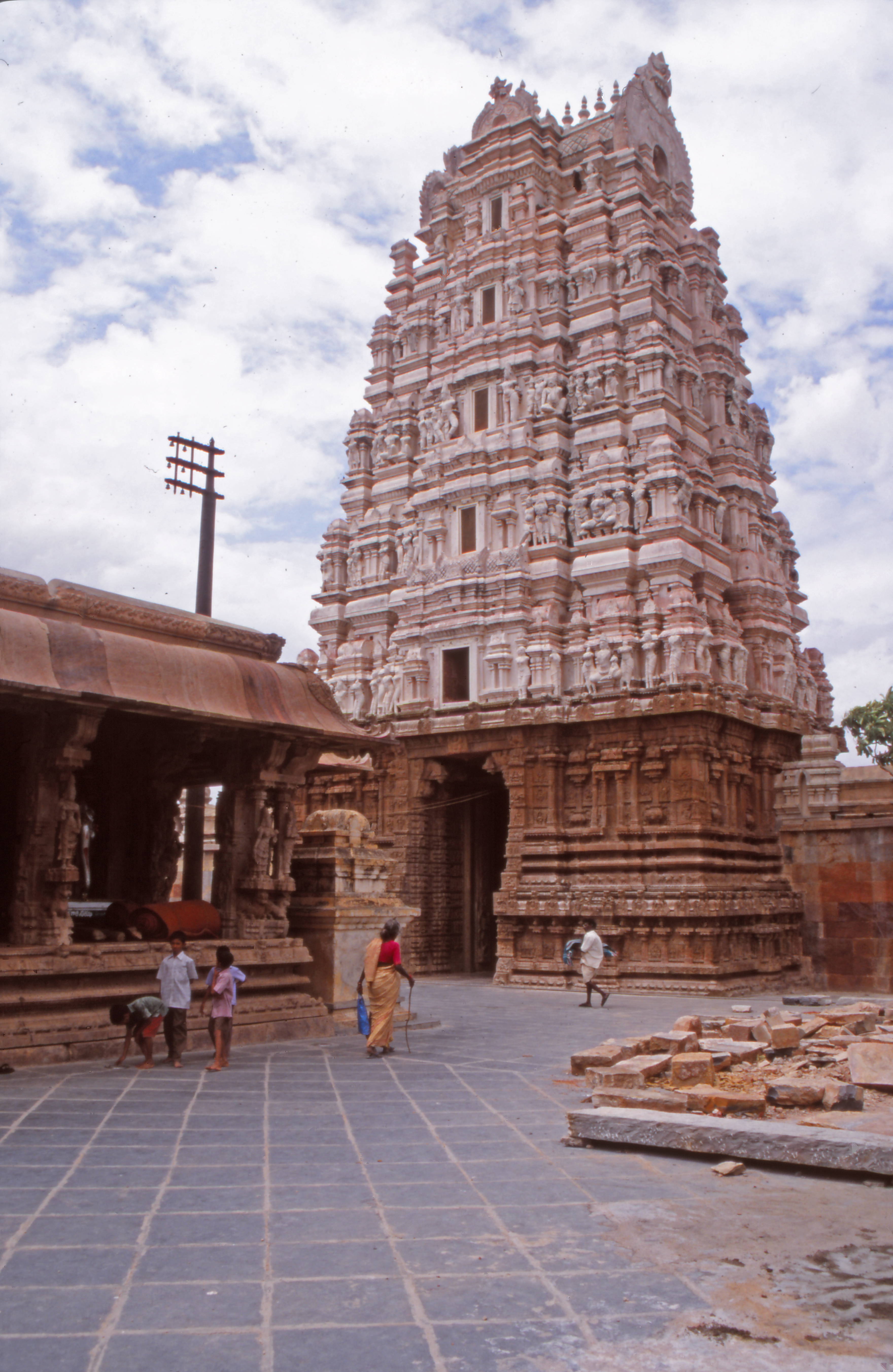 The Tamil Gopura From Temple Gateway to Global Icon