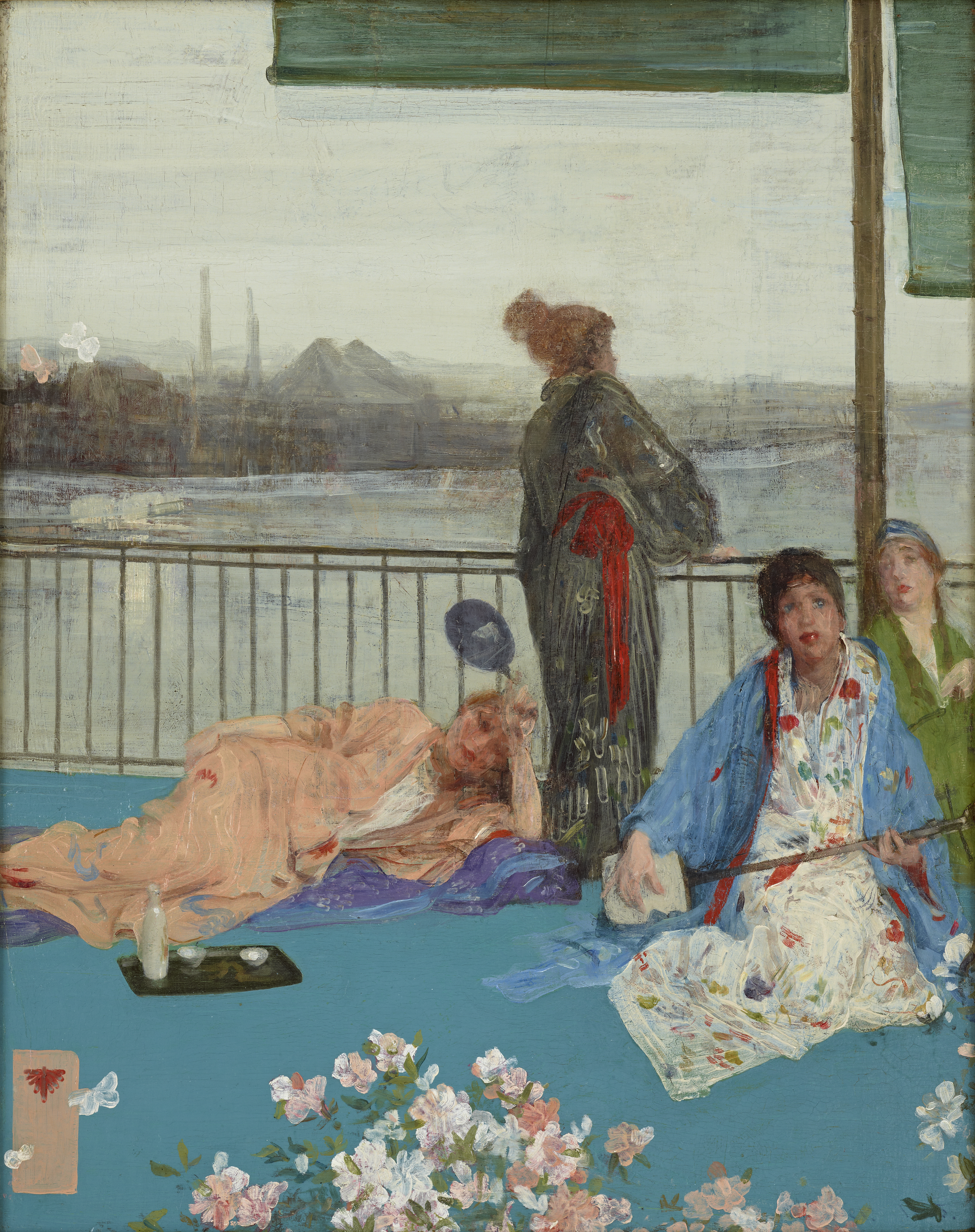 d719d4cdaf Figure 6. James McNeill Whistler, Variations in Flesh Colour and Green—The  Balcony