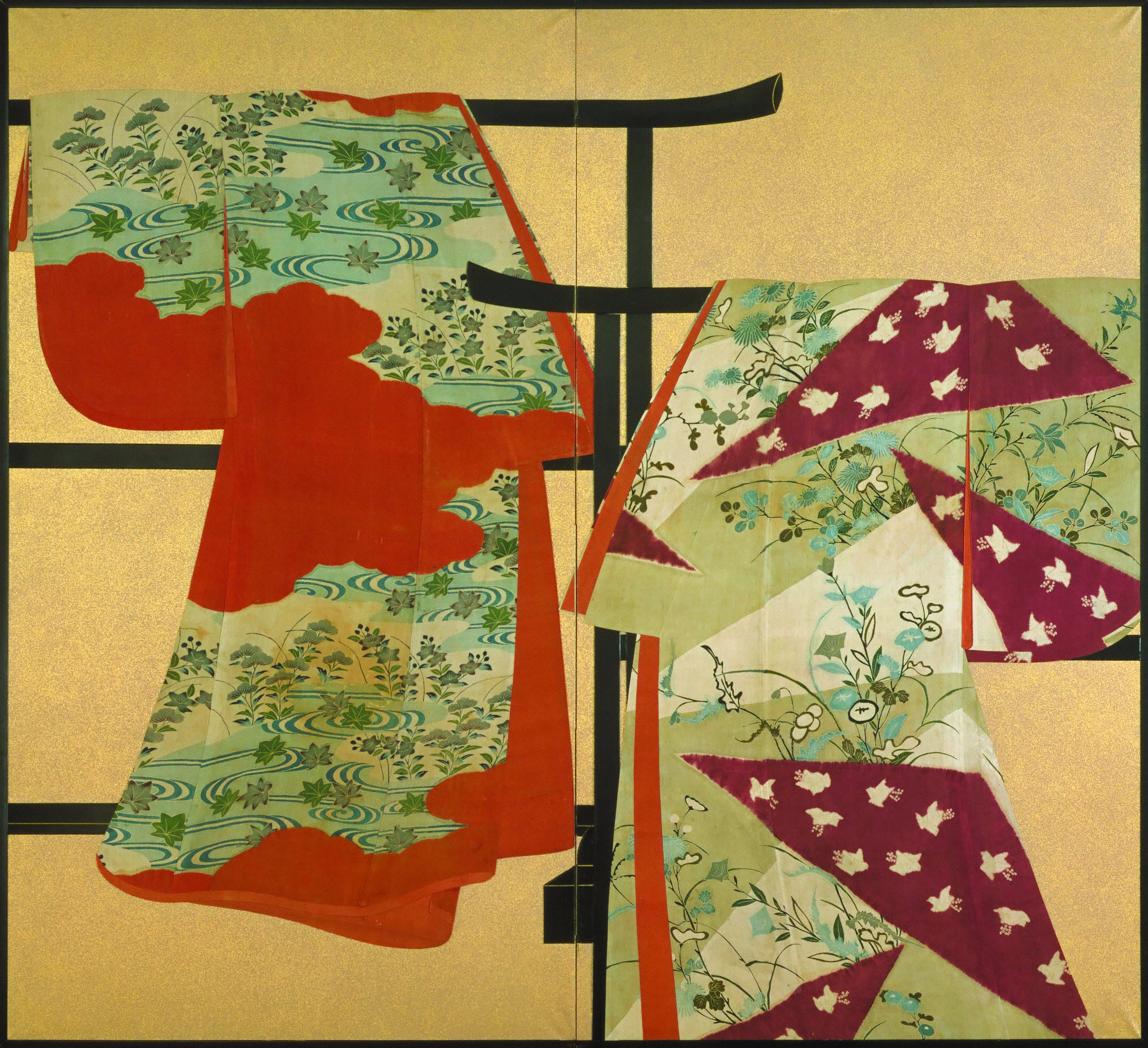 Artist Bears Adaptable Vintage Hand Crafted Red Oriental Silk Brocade Artisan Teddy Bear Hand Made High Resilience