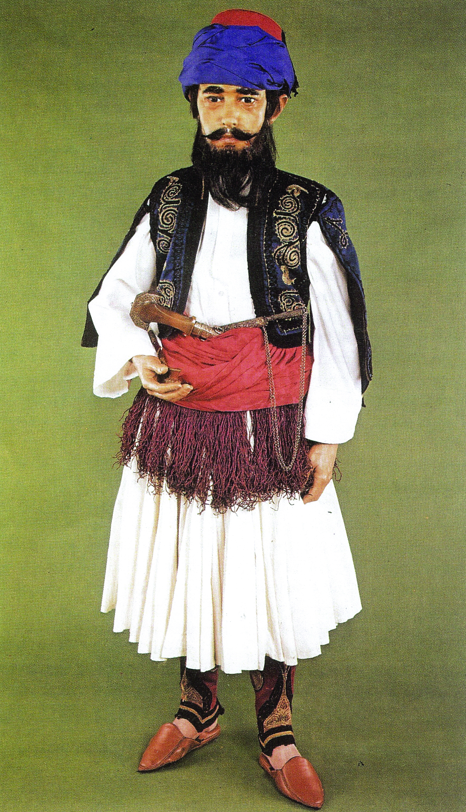 Lord Byron 1788 1824 In Albanian Dress A Sartorial