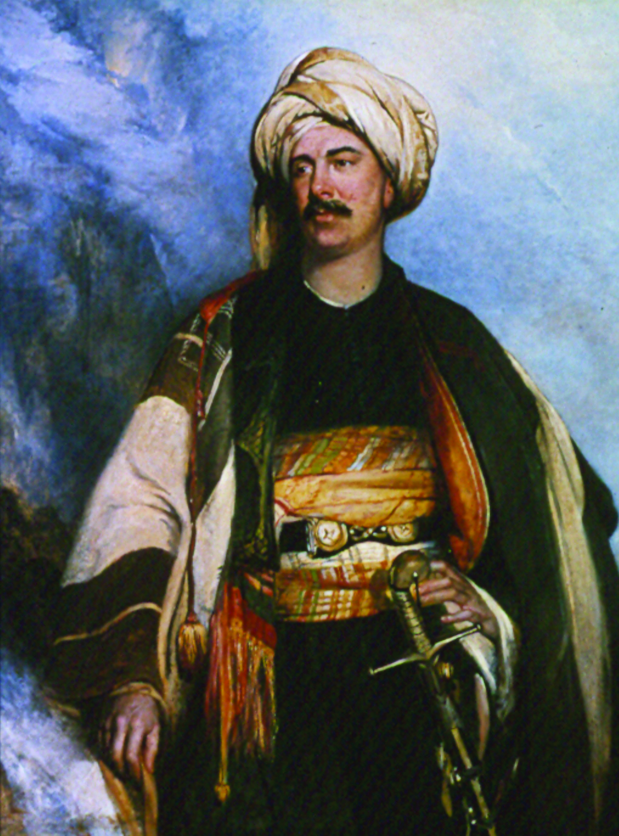 Lord Byron 1788 1824 In Albanian Dress A Sartorial Response To The Ottoman Empire