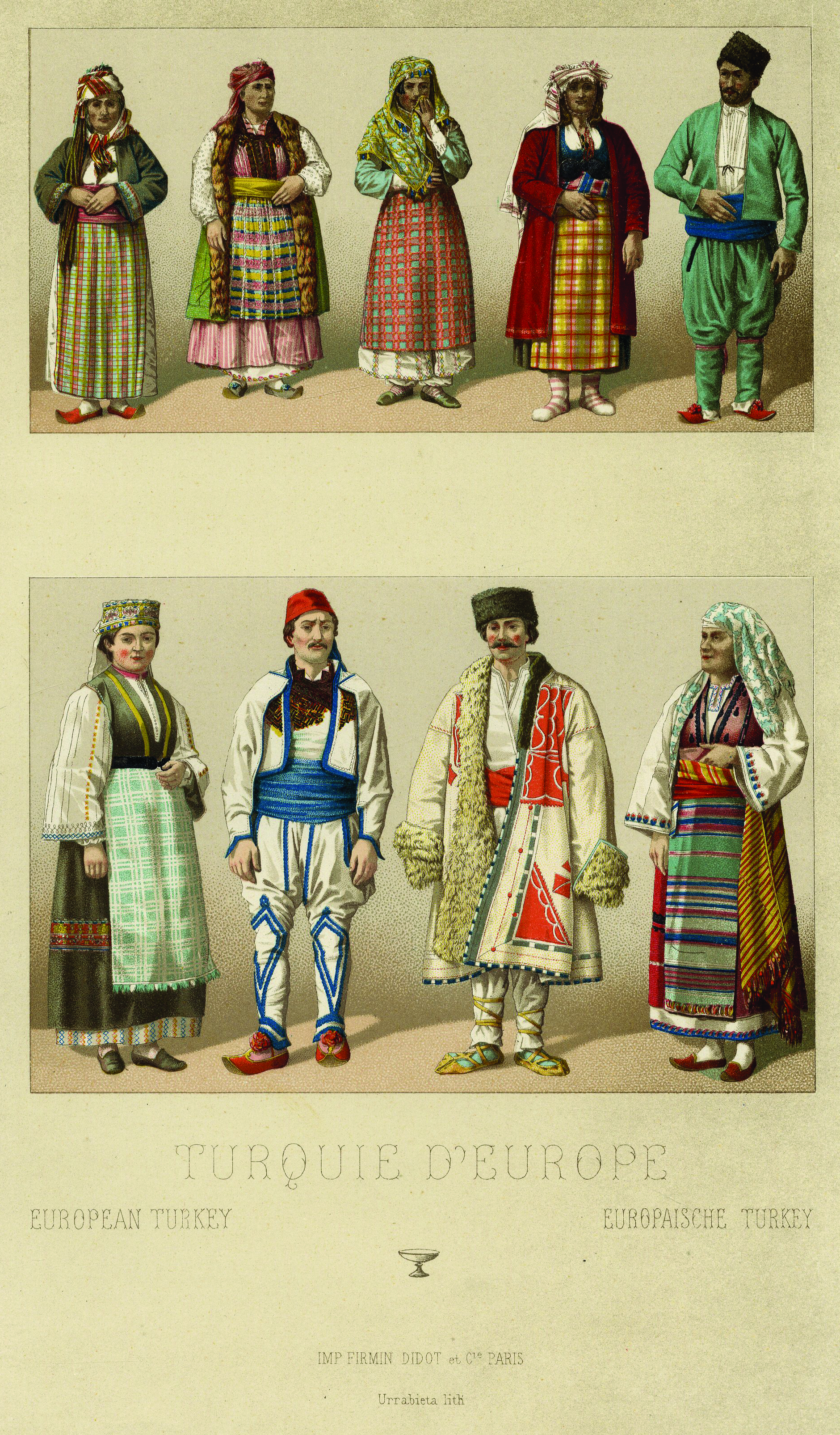 You Are What You Wear Ottoman Costume Portraits In The Elbise I Osmaniyye