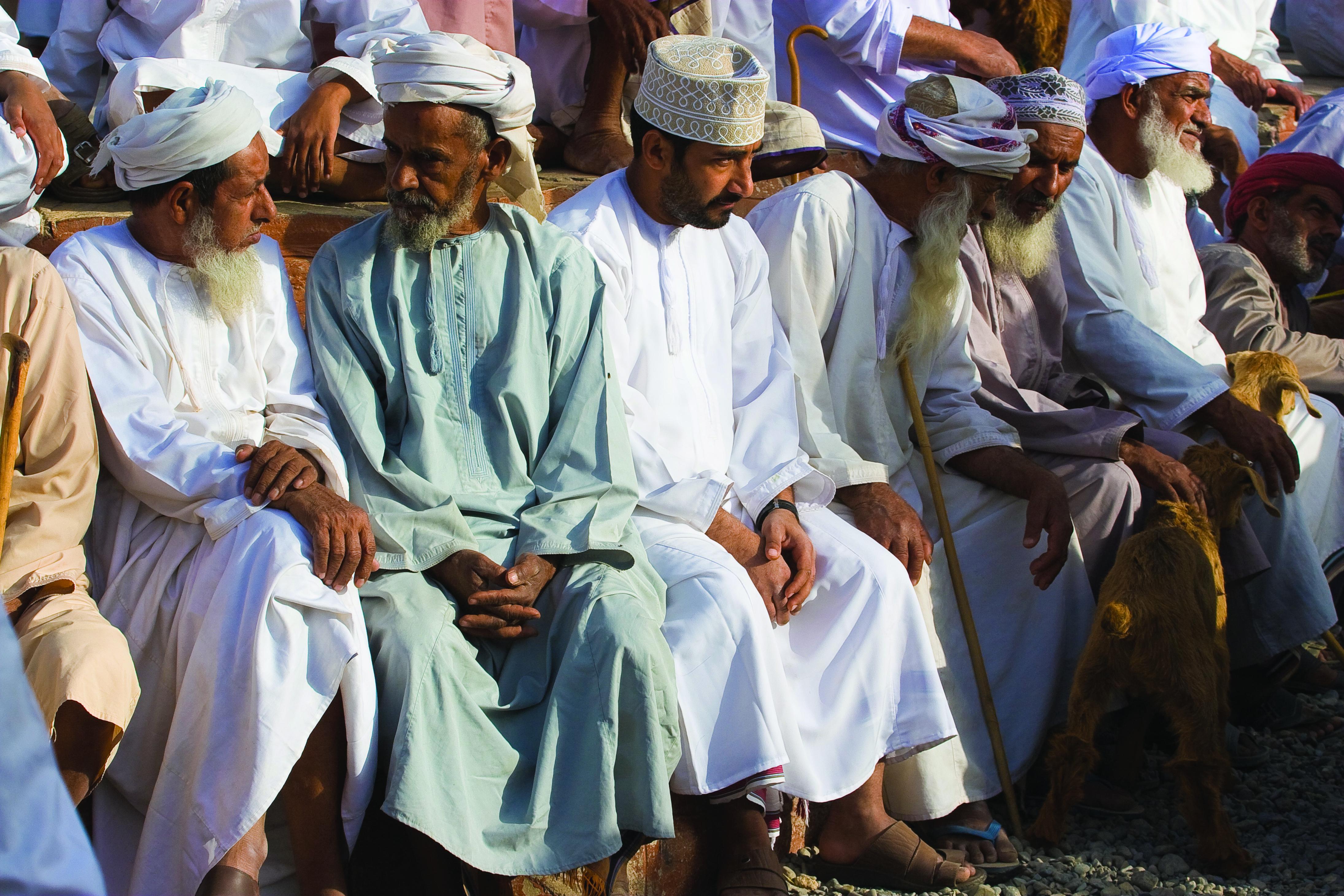 Omani Men's National Dress: Displaying Personal Taste, Asserting