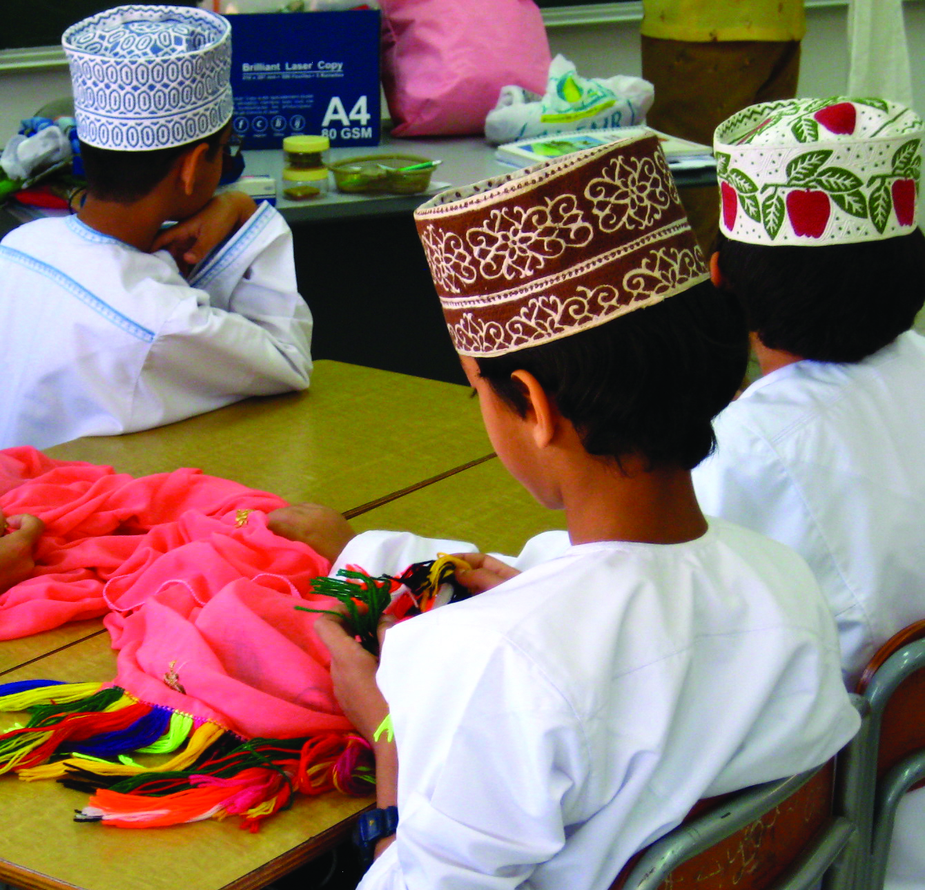Omani Men's National Dress: Displaying Personal Taste, Asserting