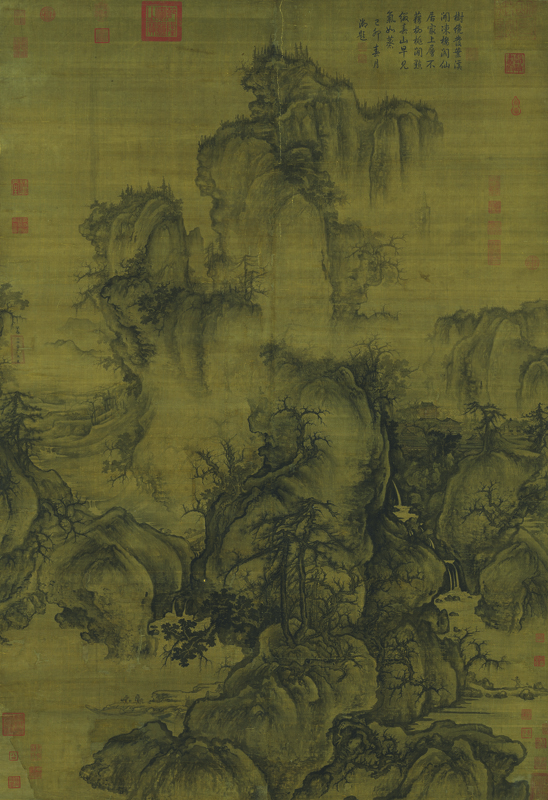 Figure 4. Guo Xi (ca. 1020–ca. 1090), Early Spring, 1072. Hanging scroll, ink and slight color on silk; 158.3 x 108.1 cm. The Collection of National Palace Museum, Taipei