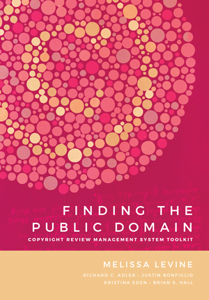 Finding the Public Domain Book Cover