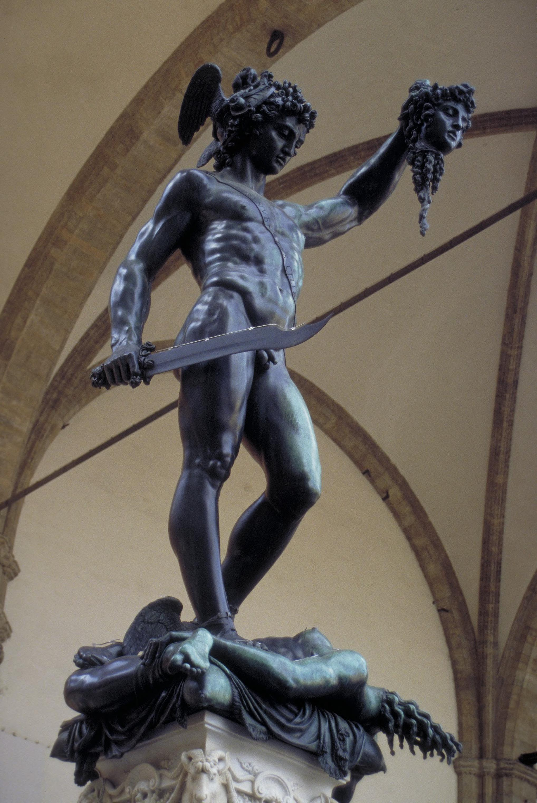 Art Images For College Teaching Perseus With The Head Of