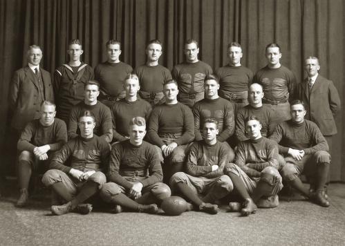 1918 team photo