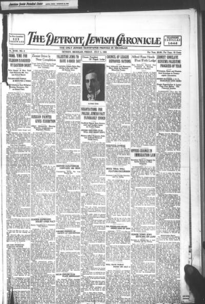 status wa paling keren  the detroit jewish news digital archives july 03 1925