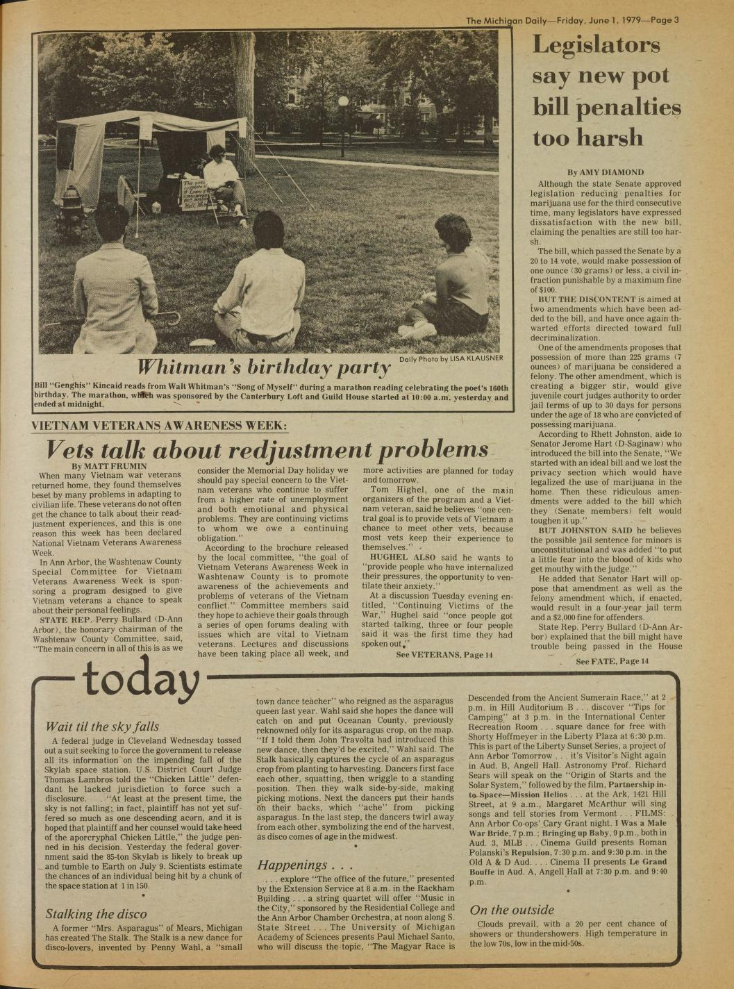 Michigan Daily Digital Archives - June 01, 1979 (vol  89