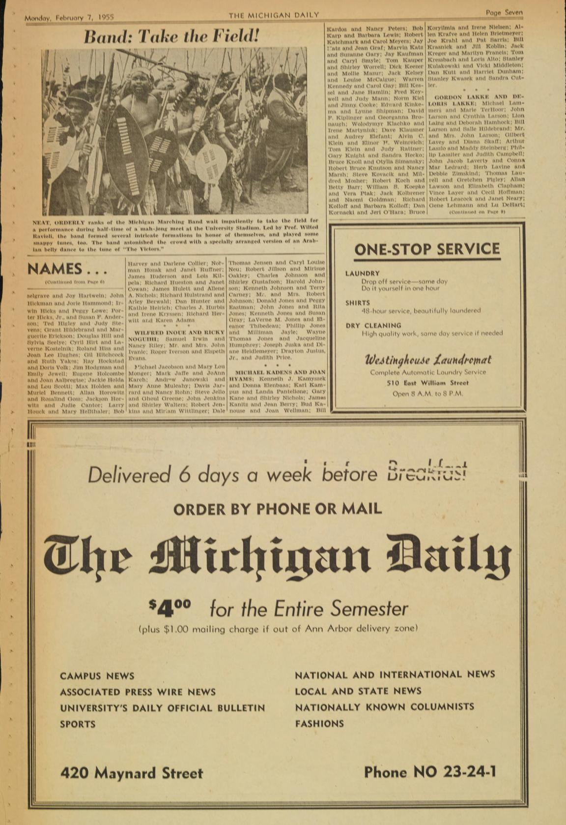 Michigan daily digital archives february 07 1955 vol 0 iss 0 download this page solutioingenieria Image collections