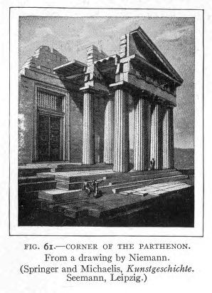 Historic Illustrations of Art and Architecture: Corner of