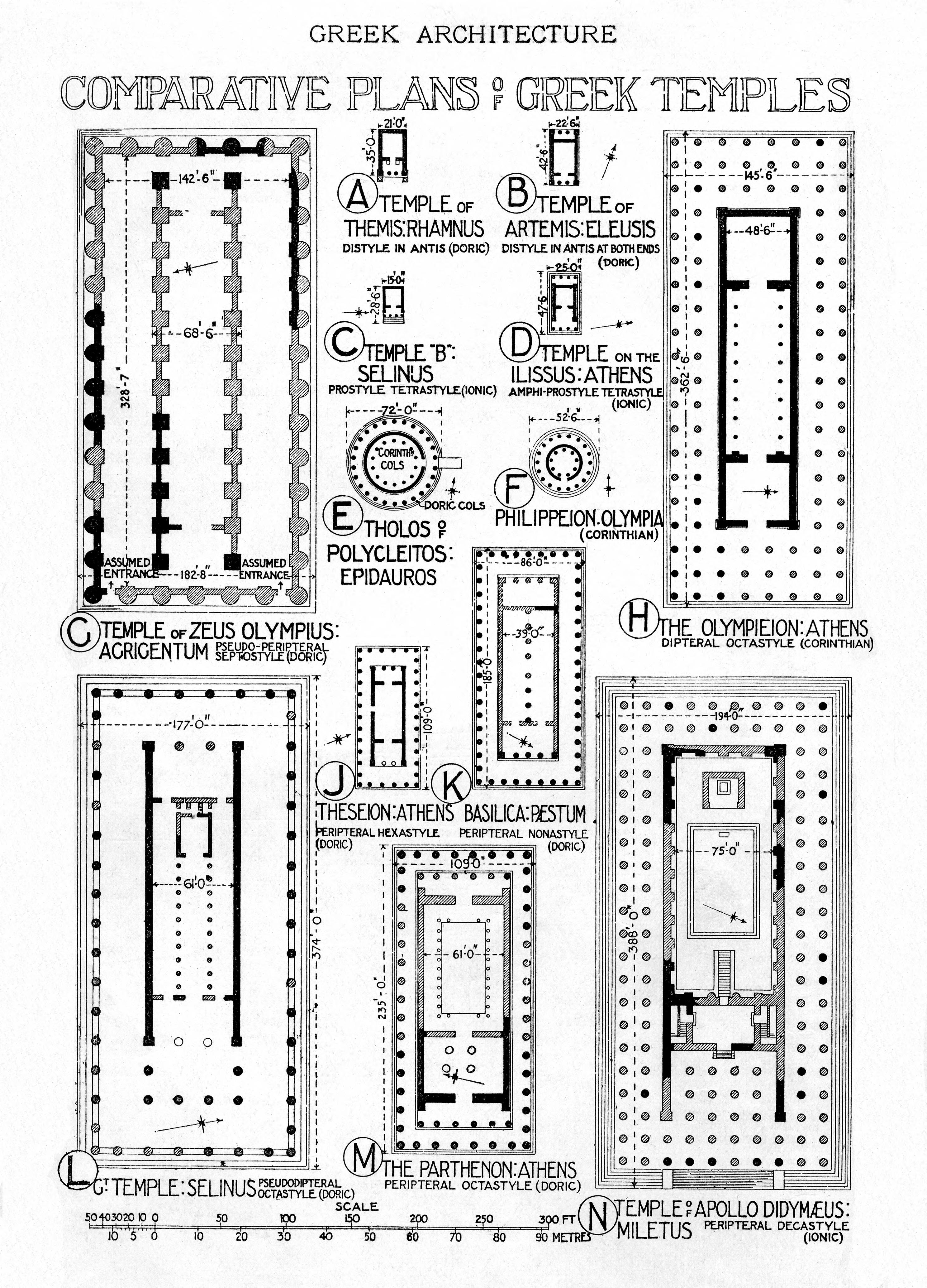 Historic illustrations of art and architecture greek architecture record toolbar ccuart Image collections