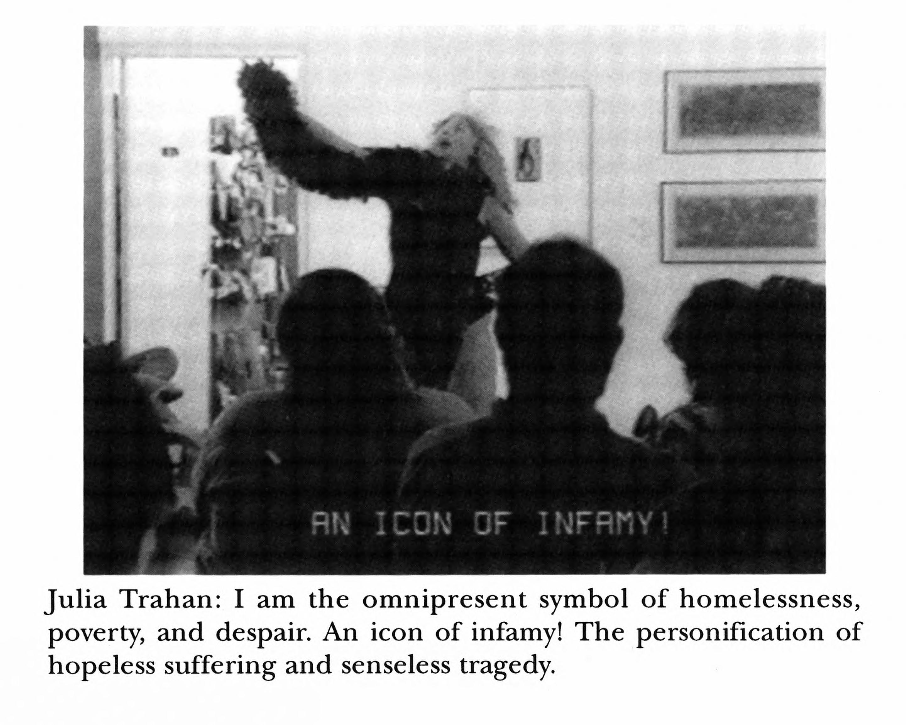 Michigan quarterly review images julia trahan i am the julia trahan i am the omnipresent symbol of homelessness poverty and despair an icon of infamy the personification of hopeless suffering and senseless biocorpaavc