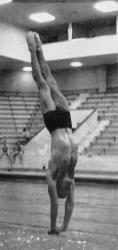 Robert Webster, UM Men's Swimming and Diving, Olympic Platform Diving Gold medalist