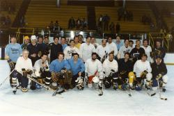 1985 Alumni Hockey team, UM Ice Hockey