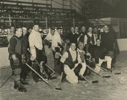 Alumni Hockey Team, UM Ice Hockey, 1961