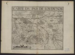 Carte du pais de Loudunois.