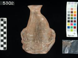 Vase; Fayoum; Glass vessels; Glass