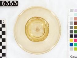 Bowl; Glass vessels; Glass