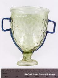chalice; Glass vessels; Glass