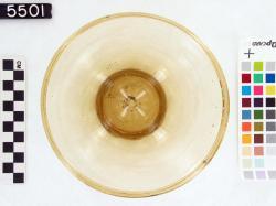 Bowl; Karanis; Glass vessels; Glass