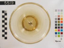 glass bowl; Karanis; Glass vessels; Glass