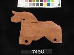 Horse; Karanis; Toys; Wood; Horse