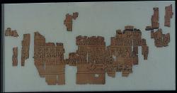 papyrus fragments; Papyri; Papyrus; Ink