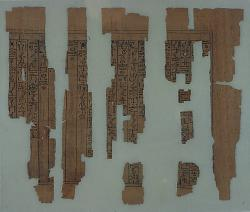 papyrus fragments; Papyri; Papyrus; Ink; undecorated