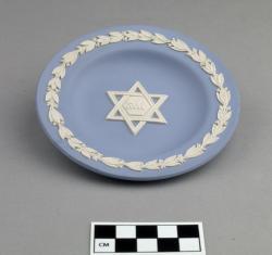 Plate; ceramic, 4.5