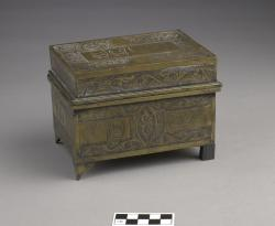 Etrog box;brass, 6