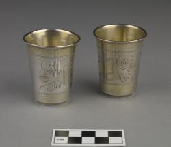 Cups for Kiddush (2); 2.5