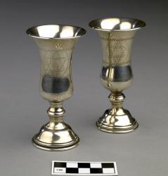 Goblets for Kiddush (2); 4