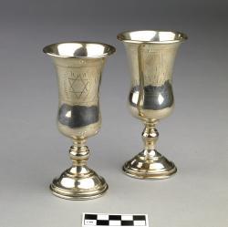Goblets for Kiddush (2); 5