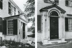 New England Colonial doorways. White Pine Series.