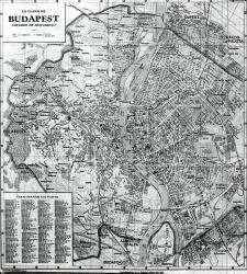 Budapest City Plan.