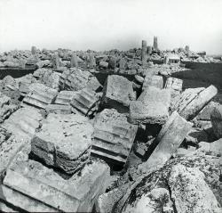 Selinus. Sicily. Temples.