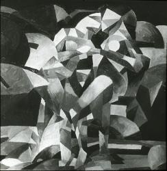 Unidentified painting, cubism