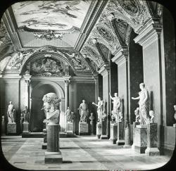 Musee du Louvre, Room of the Emperors