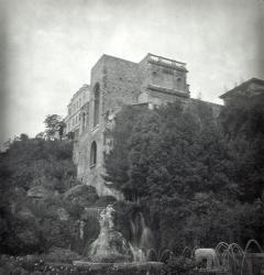 Villa d'Este in city of Tivoli
