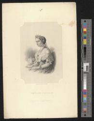 Empress Eugenie / engraved by W. Wellstood.