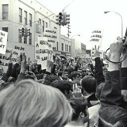 Bentley Image Bank Bentley Historical Library Draft Protest Liberty And Diag