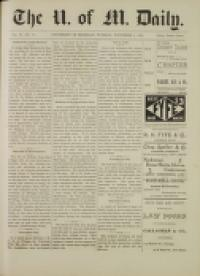 image of November 03, 1891 - number 1