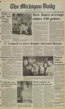 image of October 27, 1987 - number 1
