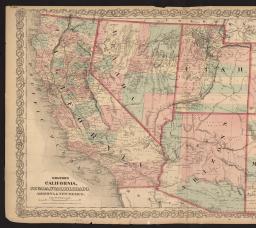 Clark Colorado Map.Um Clark Library Maps Colton S Map Of California Nevada Utah