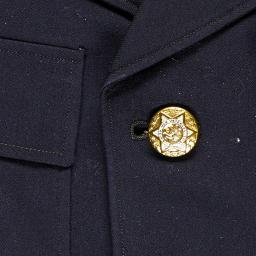 Jewish Heritage Collection Suit Jacket Wool From Uniform Of Jewish War Veterans Of The United States